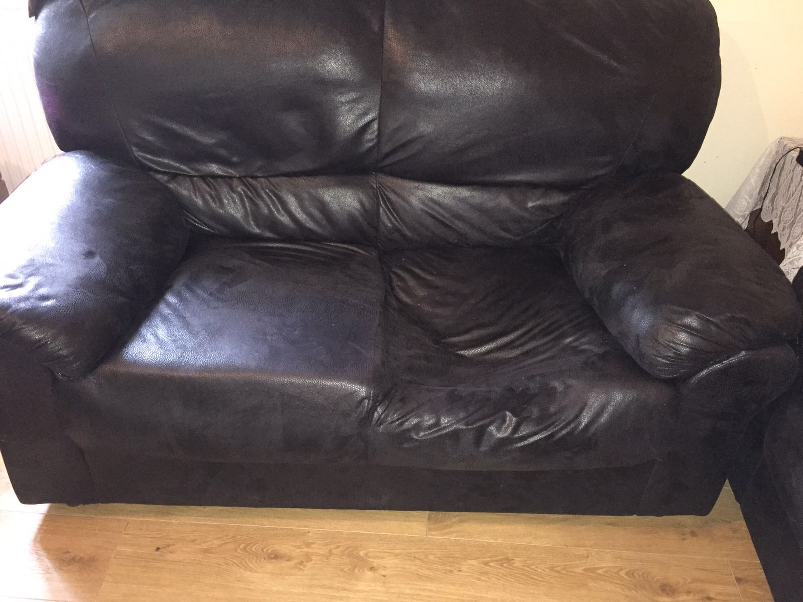 sofa furniture repair before