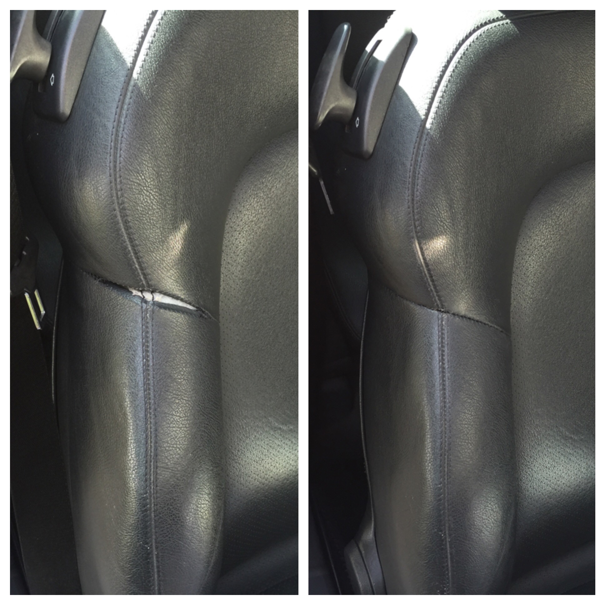 Leather Mobi Car Seat Repair