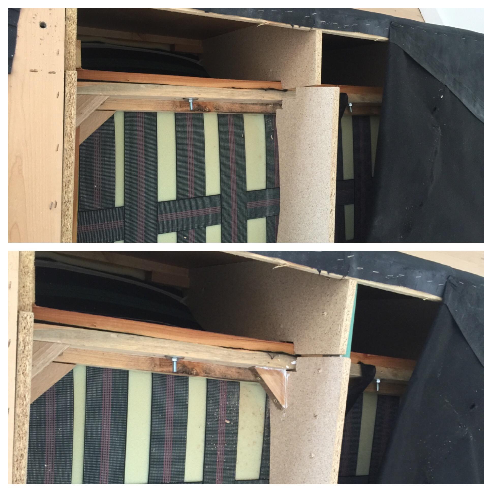 leather mobi frame repair