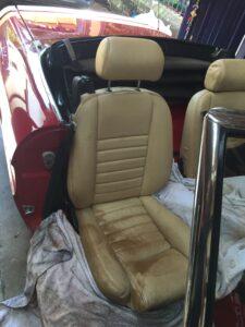 alfa romeo drivers seat
