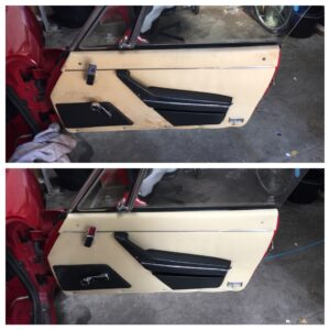 Alfa Romeo door card 50/50